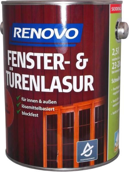 2,5L Renovo Fenster&Türenlasur Nr.0100 farblos