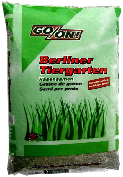 "4x 2,5Kg GO/ON Rasensamen ""Berliner Tiergarten"""