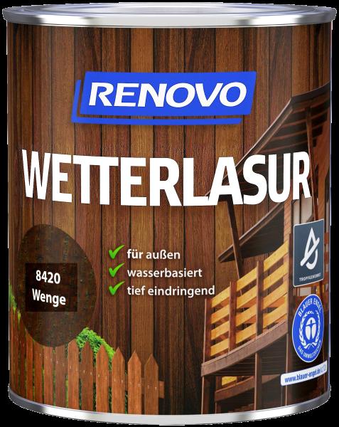750ml Renovo Wetterlasur wb Nr.8420 Wenge