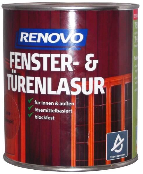 750ml Renovo Fenster&Türenlasur Nr.8410 nussbaum