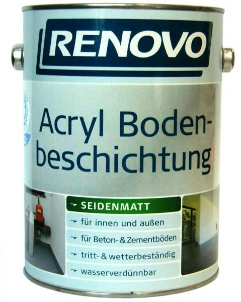750ml Renovo Acryl - Bodenbeschichtung resedagrün