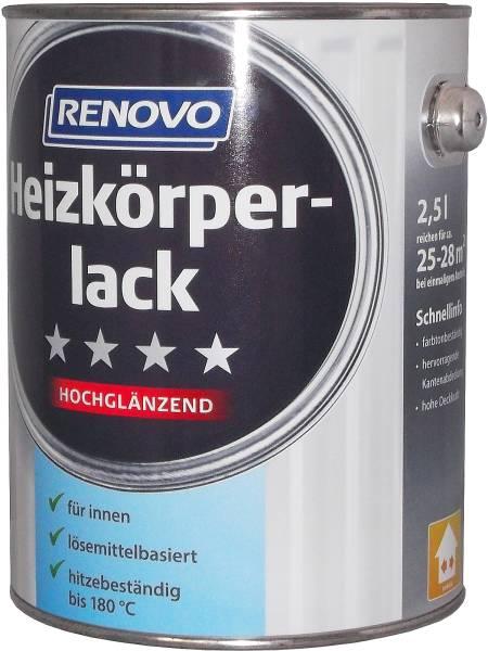 2,5L Renovo Heizkörperlack weiss