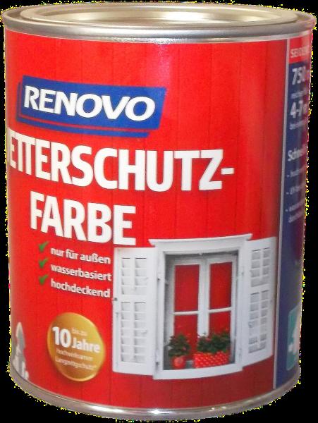 750ml Renovo Wetterschutzfarbe Nr.3103 schwedenrot