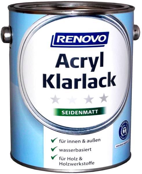 2,5L Renovo Acryl Klarlack seidenmatt
