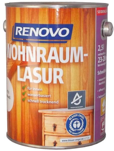 2,5L Renovo Wohnraumlasur kalkweiß